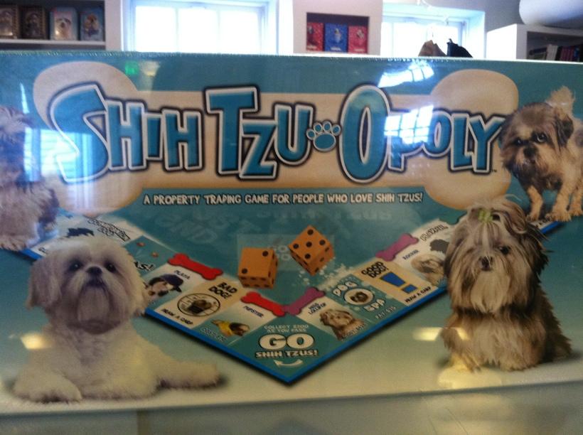 shih tzu Opoly game