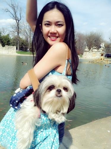 Gracie Lu Shih Tzu and her mama